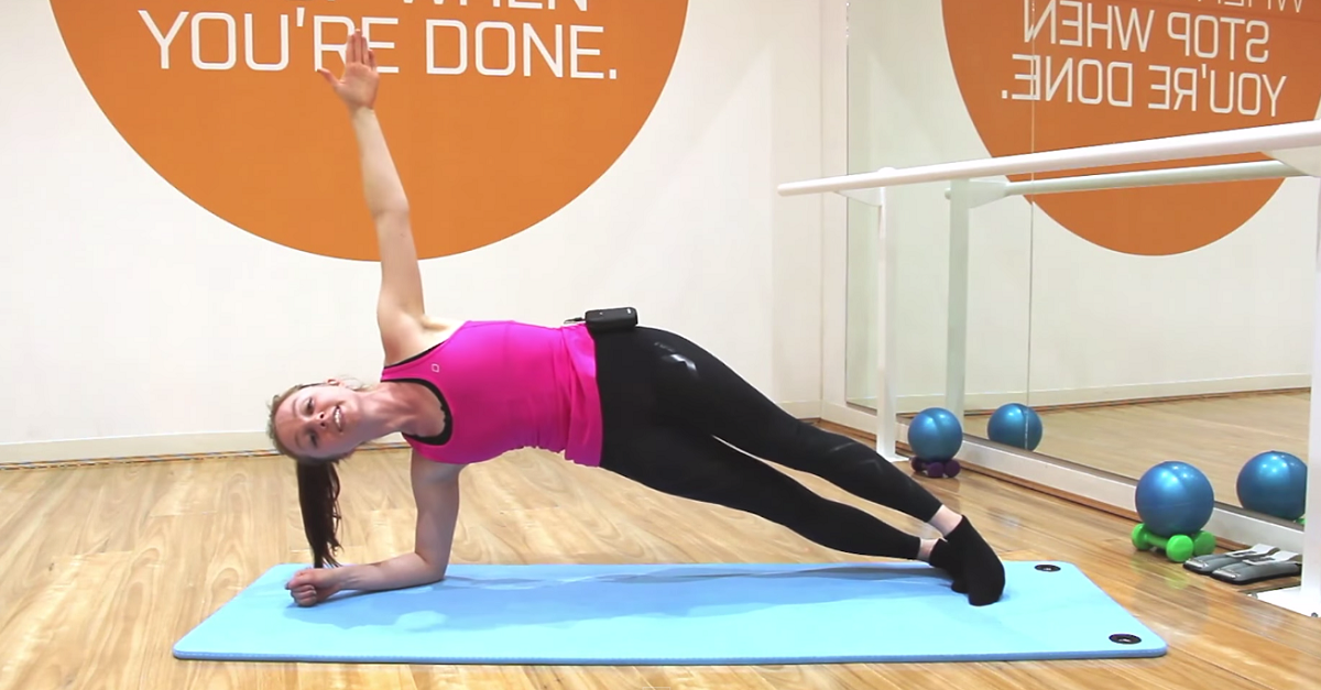 Do this challenging plank exercise to see results in a month for Plank workout results